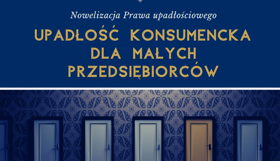 Upadłość konsumencka 2020 Koronawirus przedsiębiorca CEIDG