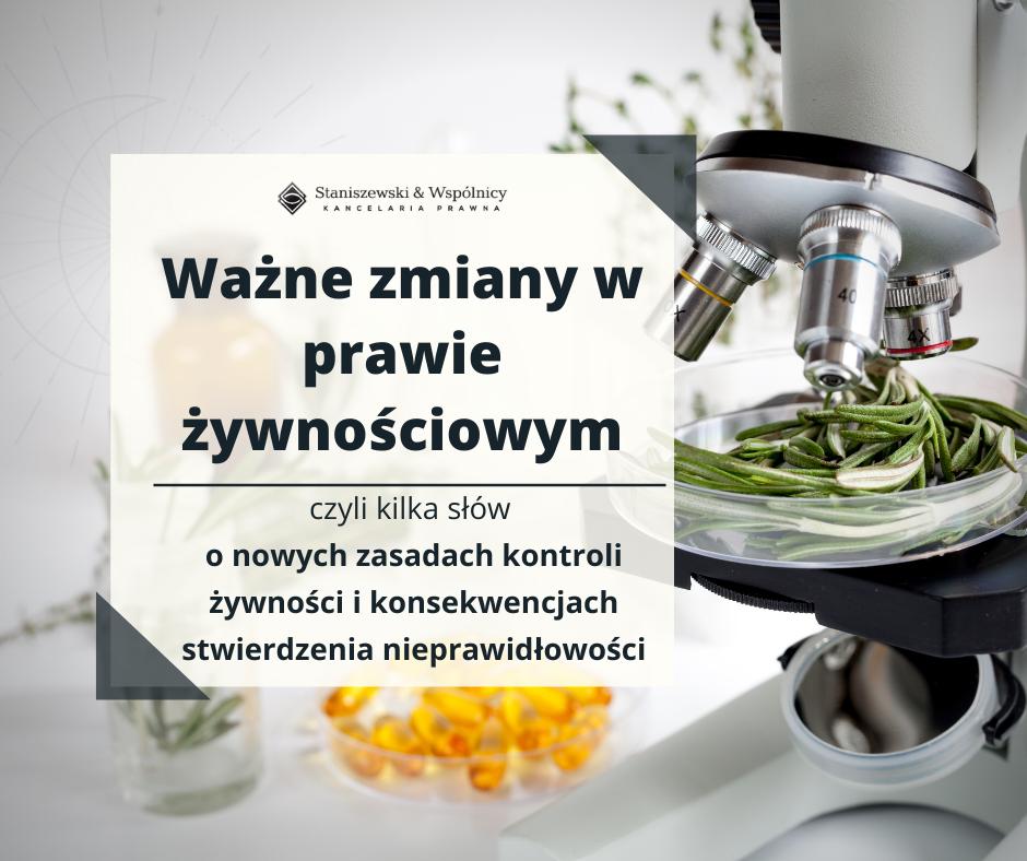 Kontrola żywności 2020