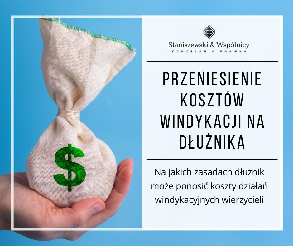 Windykacja na koszt dłuznika