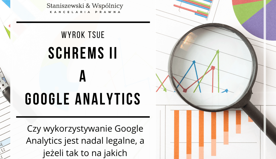 Google Analytics schrems II RODO
