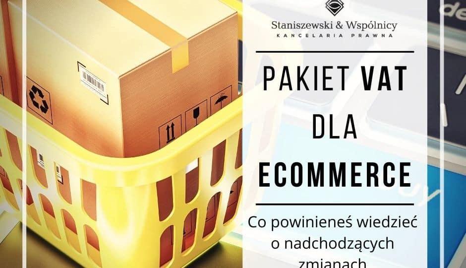 Sklep internetowy a VAT 2021