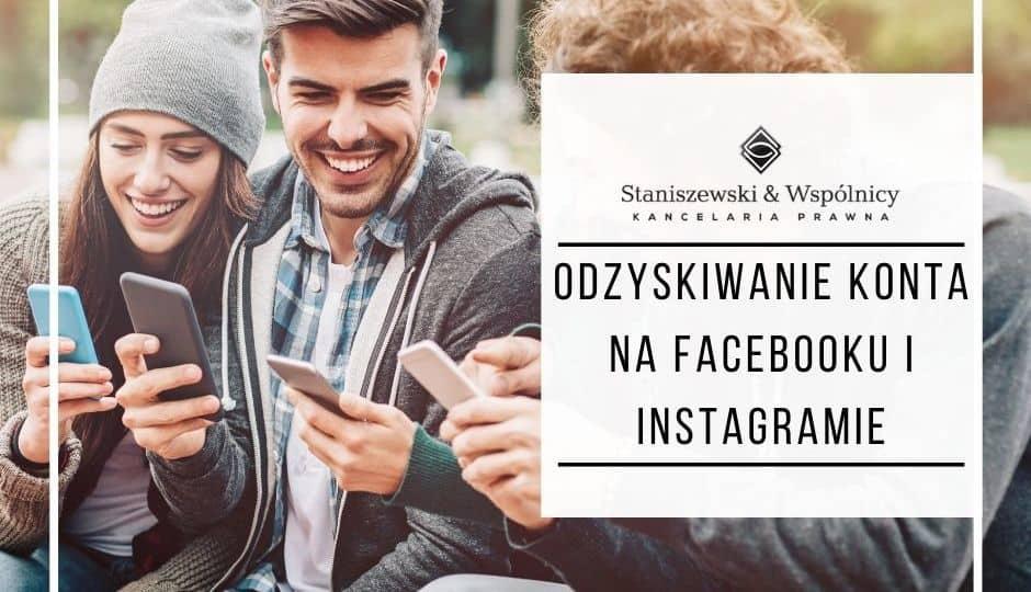 Odzyskiwanie konta na Facebooku i Instagramie