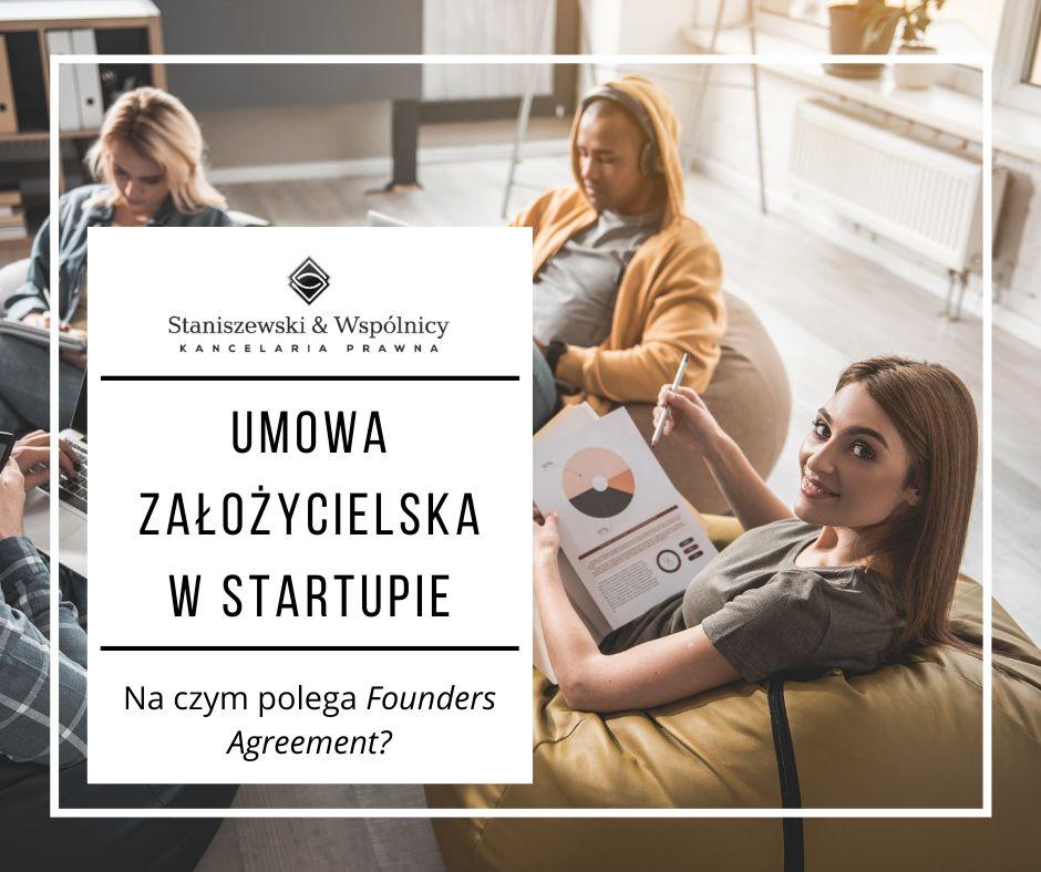 Umowa założycielska w startupie? Na czym polega Founders Agreement?