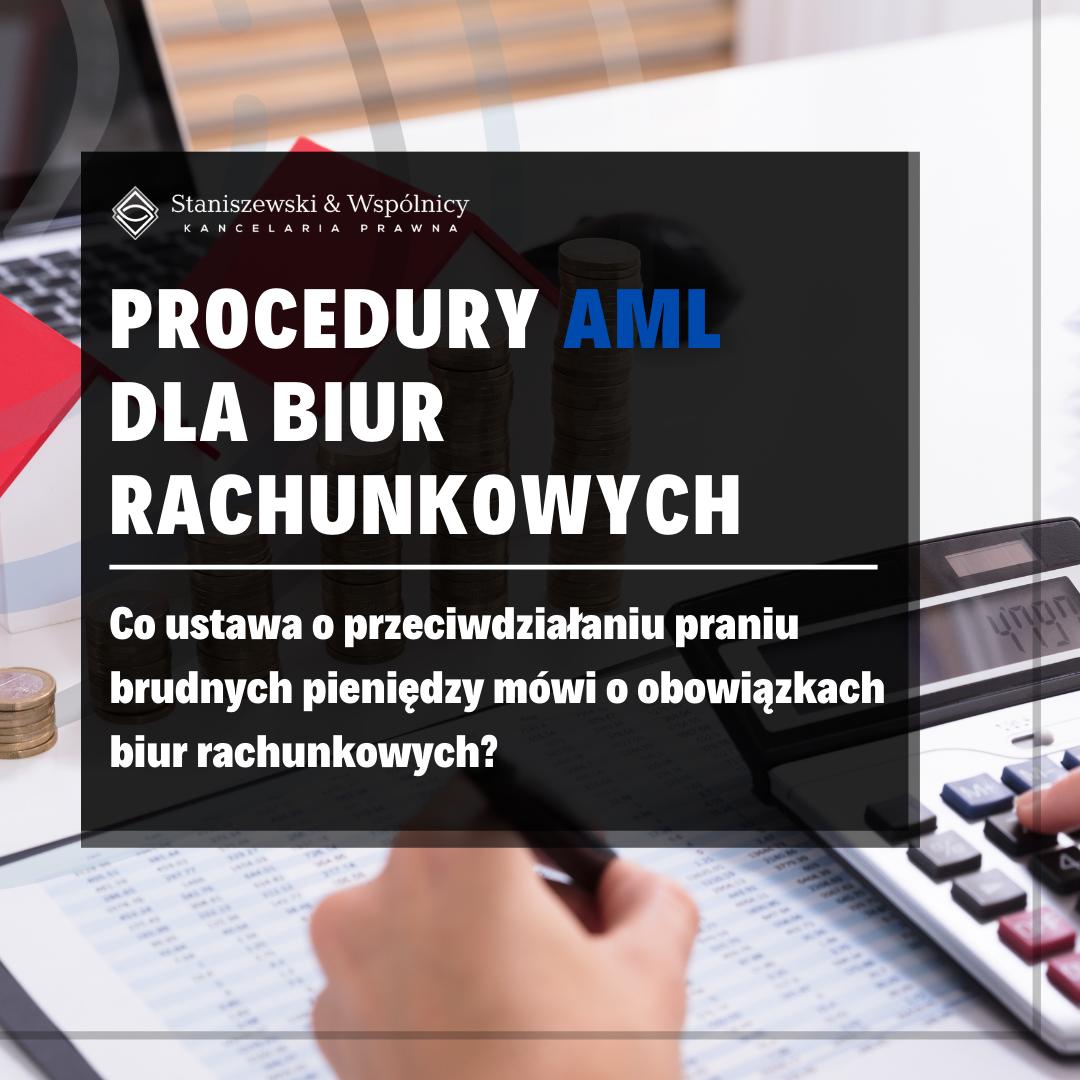 AML w biurze rachunkowym