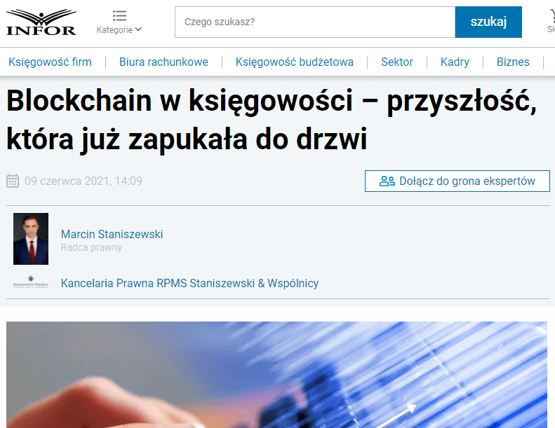 Blockchain w księgowości – przyszłość, która już zapukała do drzwi