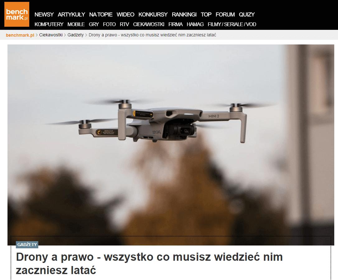 Drony a prawo – wszystko co musisz wiedzieć nim zaczniesz latać