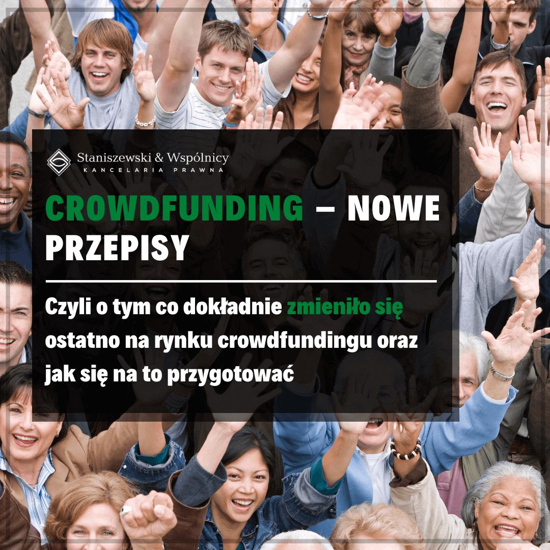 Crowdfunding – nowelizacja przepisów. Co uległo zmianie?