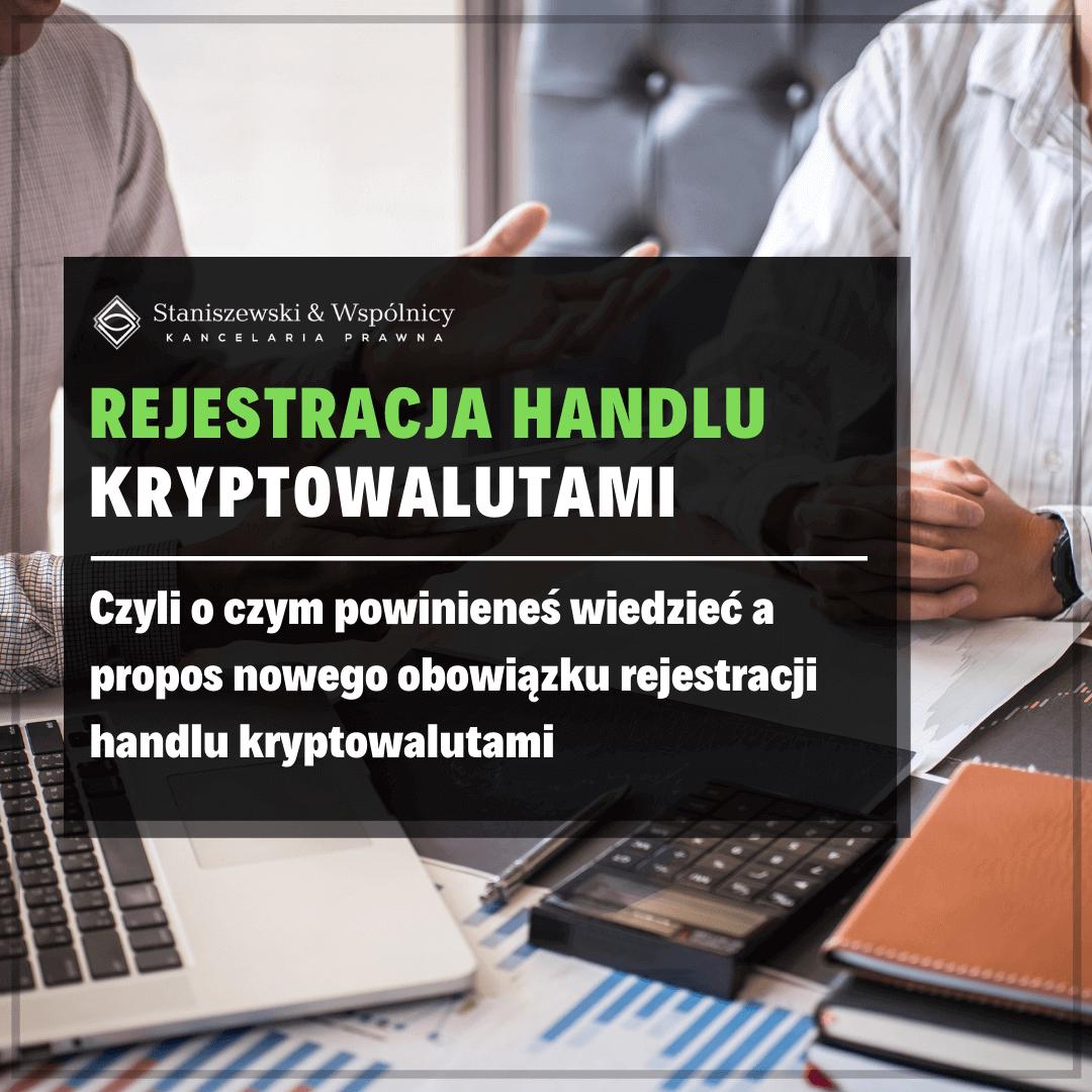 Handlujesz kryptowalutami? Pamiętaj o obowiązku rejestracji!