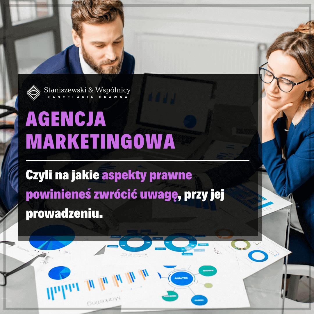 Prawny aspekt prowadzenia agencji marketingowej