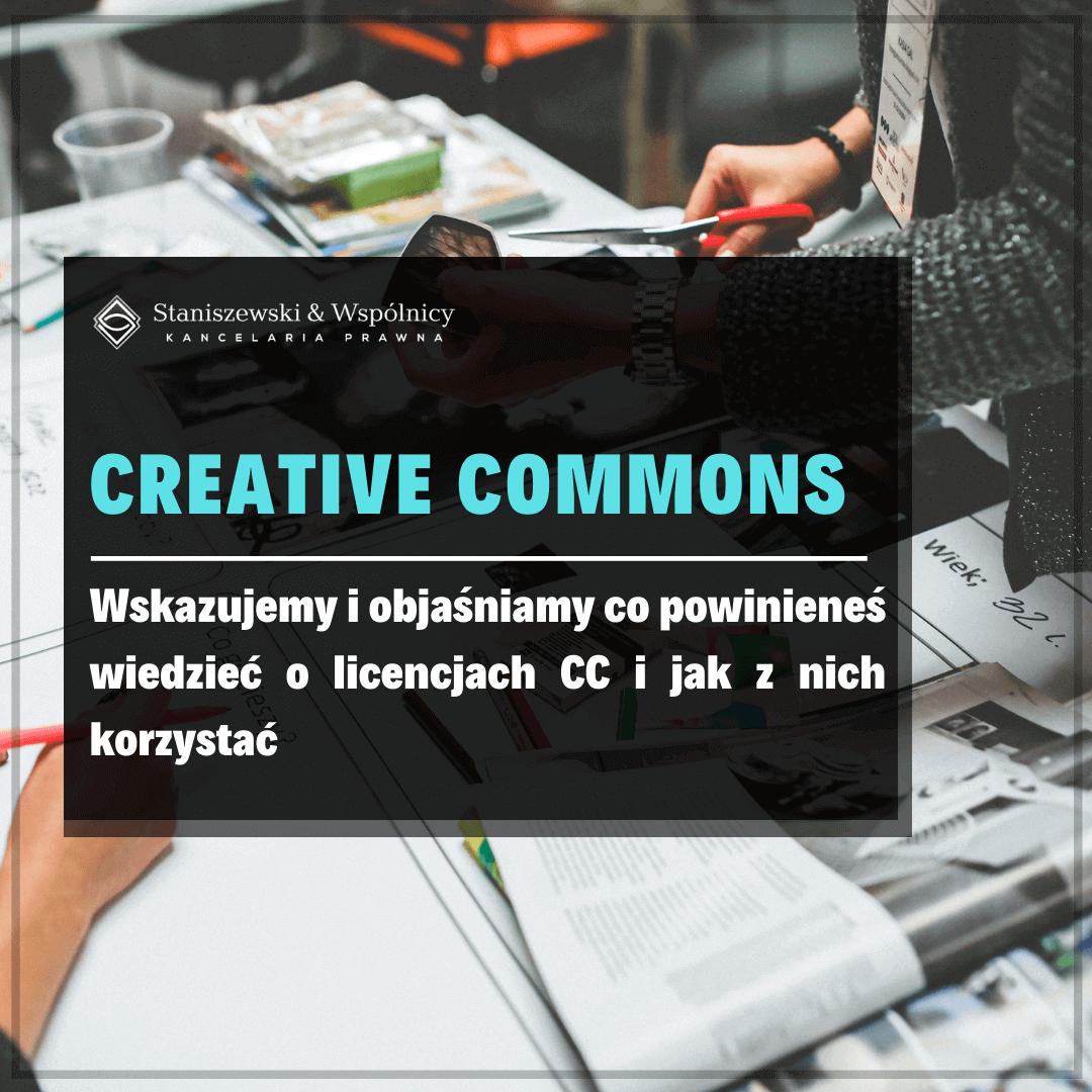 Creative Commons, czyli wszystko co powinieneś wiedzieć o licencjach CC